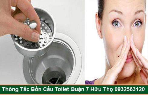 Dịch vụ xử lý mùi hôi nhà vệ sinh Quận 7 giá rẻ 0932563120