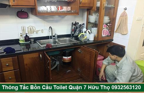 Thông Tắc Nghẹt Bồn Rửa Chén Bát Bồn Rửa Mặt Lavabo Quận 7.