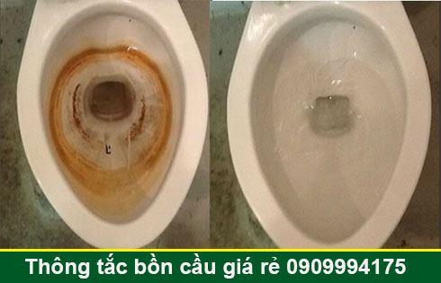 Thông bồn cầu bị nghẹt giấy Quận 7 giá rẻ 0903737957 BH 5năm