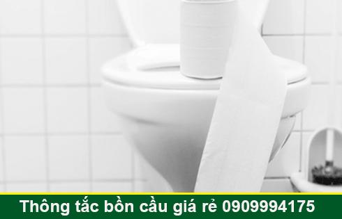 Thông bồn cầu bị tắc băng vệ sinh Quận 7 BH 5năm 0903737957