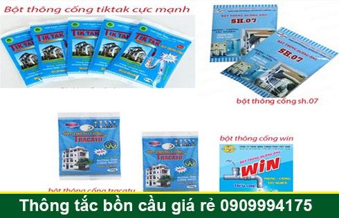 Bán bột thông cống nghẹt Quận 7 miễn phí giao hàng 0903737957