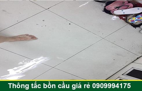Thông cống bị trào ngược tại Quận 7 giá rẻ 0903737957 BH 5năm