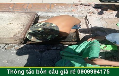 Sửa cống nghẹt Quận 7 giá rẻ 0903737957 bảo hành 5 năm