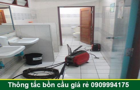 Thông đường ống nước bị tắc nghẹt Quận 7 giá rẻ 0903737957