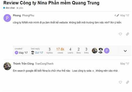 Công ty thiết kế website Nina có phải là đa cấp hay là không ?