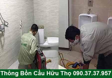 Thông bồn cầu Cà Mau giá rẻ 50K BH 5năm 0903737957