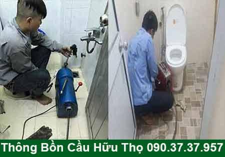 Thông bồn cầu ở Biên Hòa Đồng Nai giá 90K 0903737957