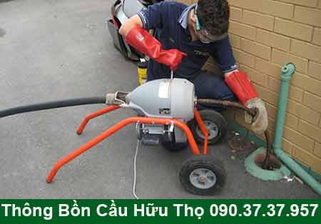 Thông cầu cống nghẹt tại Cà Mau BH 4năm 0903737957