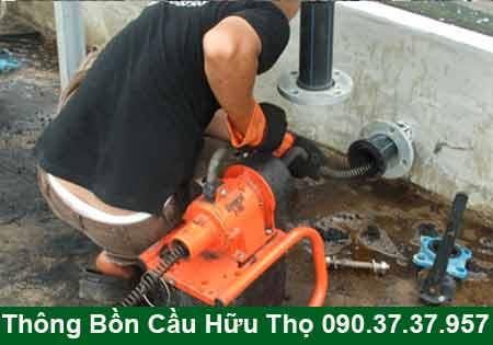 Thông cầu cống nghẹt Hậu Giang BH 4năm 0903737957