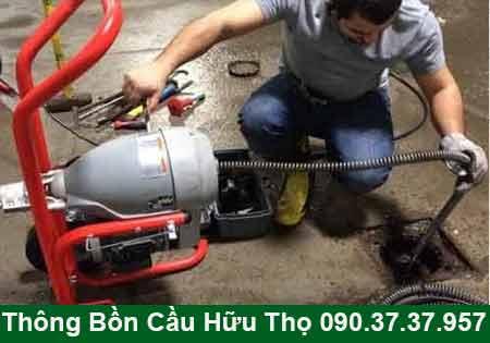 Thông cầu cống nghẹt Sóc Trăng BH 4 năm 0903737957