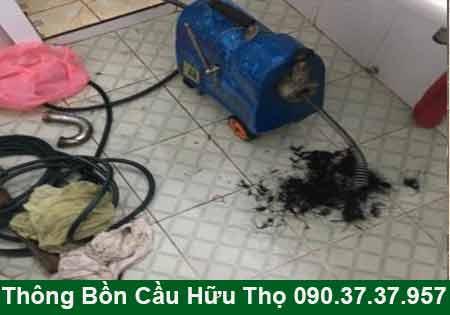 Thông cầu cống nghẹt Tiền Giang BH 4 năm 0903737957