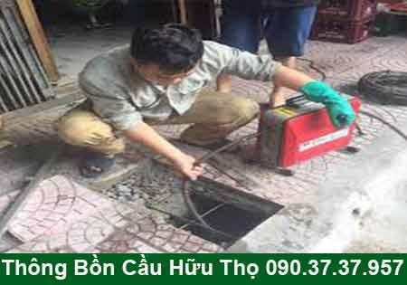 Thông cầu cống nghẹt Vĩnh Long BH 4 năm 0903737957
